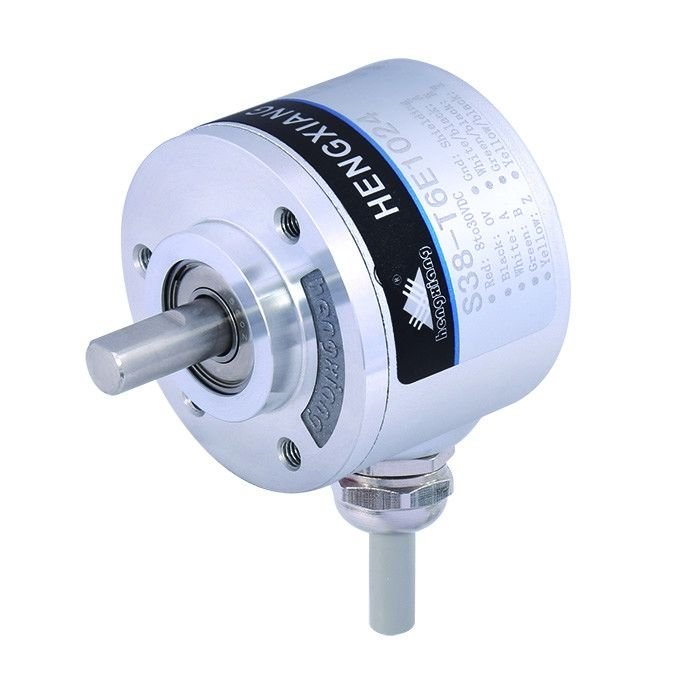 Thickness 28mm Optical Rotary Encoders S38 Shaft Line Driver7272 Output E6B2- CWZ6C -600ppr